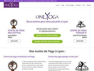 Onlyoga, le yoga à lyon