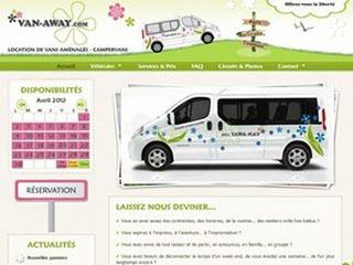 Van-Away : Location van aménagé et campervan
