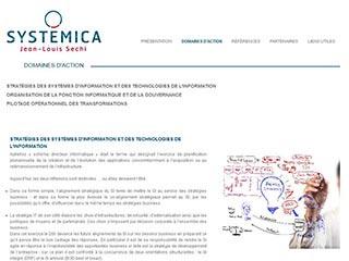 Systemica, expert en gouvernance des SI et de l'IT
