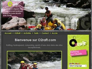 o2raft : Rafting sportif, canyoning et hydrospeed sur l'Aude