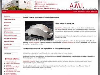 Tolerie industrielle AMI, société de découpe laser.