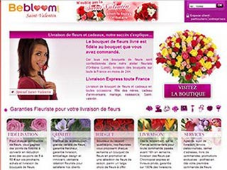 BeBloom, livraison de fleurs