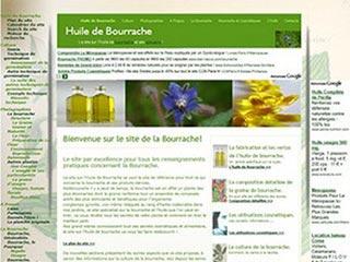 La bourrache, le site sur l'huile de Bourrache
