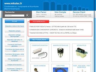Mikatec.fr, la boutique de pièces détachées et fournitures automobile