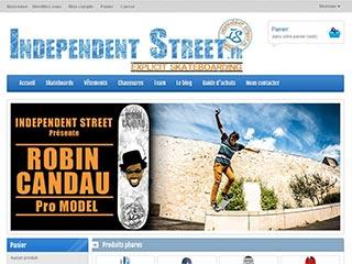 IndependentStreet : Le spécialiste des skateshop