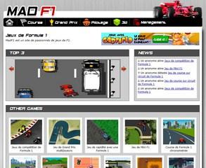 Jeux de circuit de Formule 1 et de pilotage sur le net