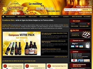 Excellence Bière : Vente en ligne bières blanches, blondes et brunes
