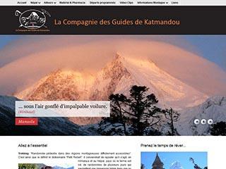 La Compagnie des Guides de Katmandou, trekkings et expéditions en himalaya
