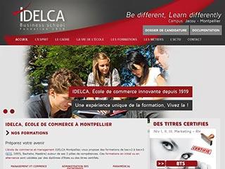 Idelca: master, bachelor et bts montpellier