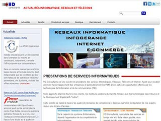 HD Consultants : Spécialiste Internet et Systèmes d'Information