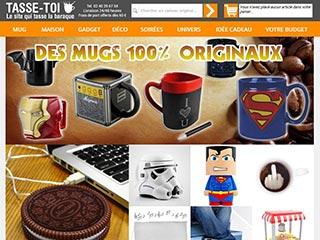 Tasse-Toi, site de cadeaux originaux