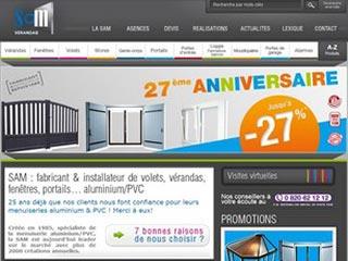 Sam Alu : Toutes la fenêtre aluminium et PVC
