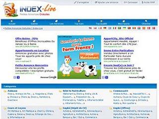 Index-Live, annonces gratuites
