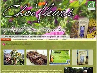 Choc'Fleurs : Du chocolat bio, des fleurs et des plantes