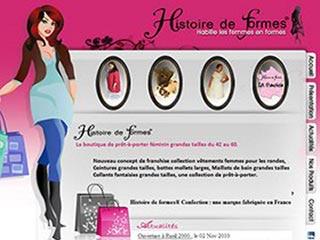 Histoire de Formes, vêtements pour femmes
