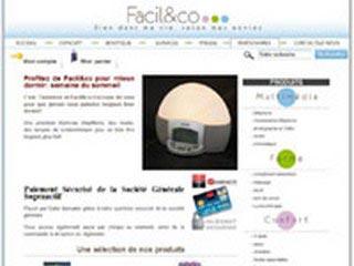 Facil&co, boutique en ligne pour les seniors