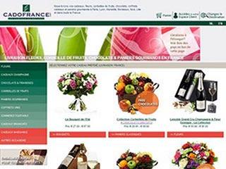 Cado France : Livraison de cadeaux, fleurs, fruits, chocolats