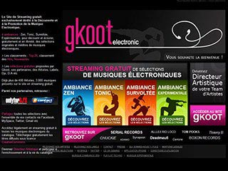 Gkoot Electronic, le site de streaming gratuit