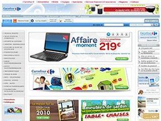 Carrefour FR, site d'achat sur Internet par Carrefour