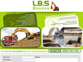LBS Bennes, location bennes et terrassement