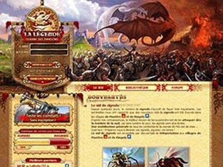 La Guerre des Dragons, jeu RPG gratuit en ligne