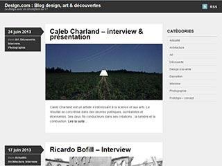 Blog design : L'actualité du design
