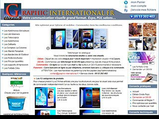 Graphic-international, enrouleurs avec votre visuel