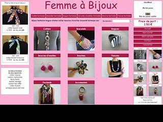Femme à bijoux, vente de bijoux fantaisie pour femme