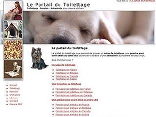 Portail-Toilettage : Salons de toilettage et animaleries