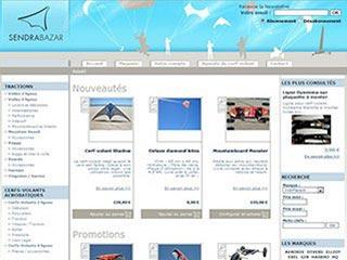 SendraBazar, magasin de Cerfs-Volants acrobatiques