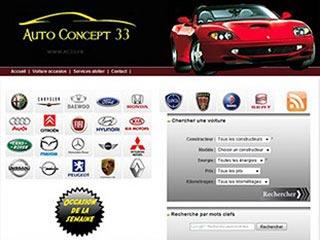 Auto Concept 33, vente de véhicule d'occasion