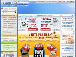 ElectroFitness, appareil électrostimulation
