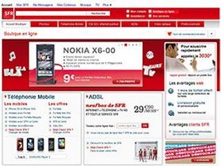 Boutique SFR : Téléphone mobile, forfaits mobile et ADSL