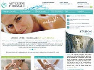 Auvergne Thermale,  cures thermales et thermes d'Auvergne