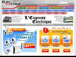 Matériel électrique en ligne