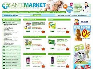 Santé Market : Produits de santé, beauté et bien-être