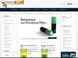 Provence Piles, pile, batterie et chargeur