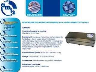 AMIS SAS : manutention et soudeuse emballage souple