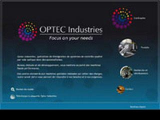 OPTEC Industries, systèmes optiques complets
