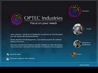 OPTEC Industries, systèmes optiques complets