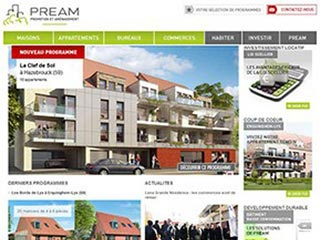 Pream : Programmes immobiliers Nord et Pas-de-Calais