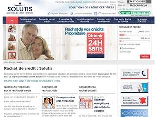 Solutis : Expert en rachat de credit depuis 1998