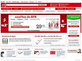 Neufbox de SFR, abonnement internet et forfait adsl