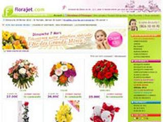 Florajet : Offrir un bouquet de fleurs