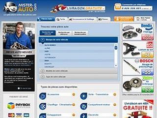Mister-Auto, vos pièces auto à prix discount