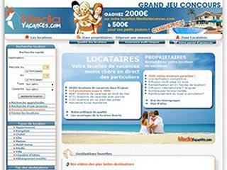 MediaVacances.com, les vacances au particulier