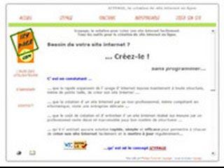 Izypage, créer un site en ligne