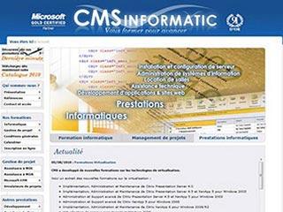 CMS Informatic, formations de qualité pour avancer