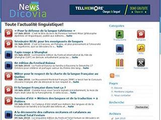 News Dicovia : L'actualité linguistisque