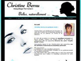 Christine Bernu maquillage permanent